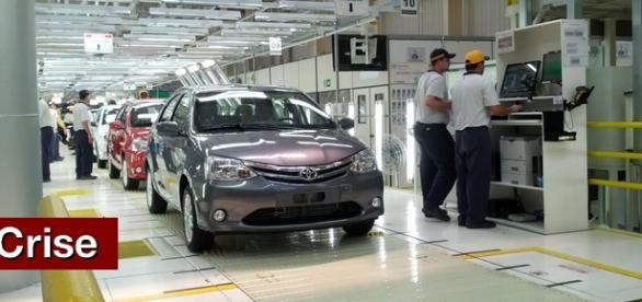 Sede da Toyota na cidade de Sorocaba