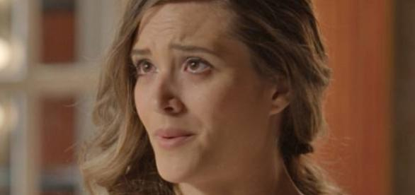 Sofia assusta Cassandra (Globo)