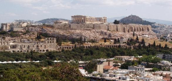 Atenas a los pies de la Acrópolis