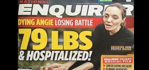 Capa da revista 'Nation Enquirer'