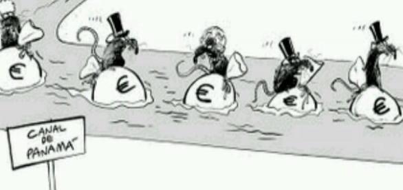 """Fuente: Twitter. @Abbiad86 """"DESCRIPCIÓN GRÁFICA #PanamaPapers"""""""