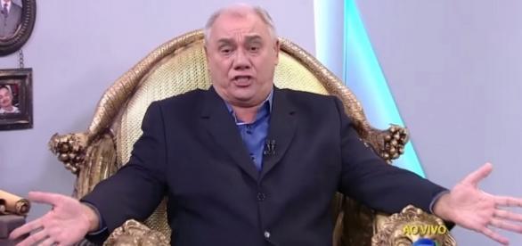 Marcelo Rezende - Foto/Reprodução: TV Record