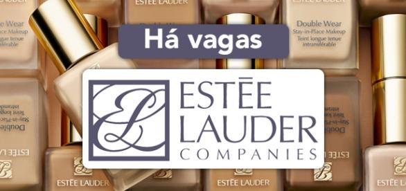 Vagas abertas na Estée Lauder pelo mundo.