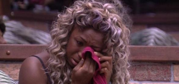 Adélia chora no Big Brother Brasil - Foto/Reprodução: Globo