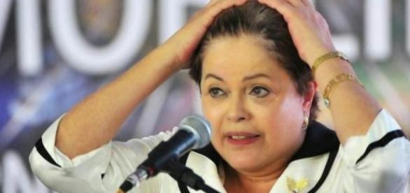 Dilma Rousseff à beira do abismo - Imagem: Google