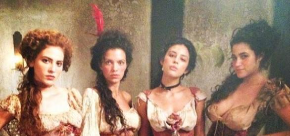 Hanna Romanazzi é Gironda em 'Liberdade, Liberdade'