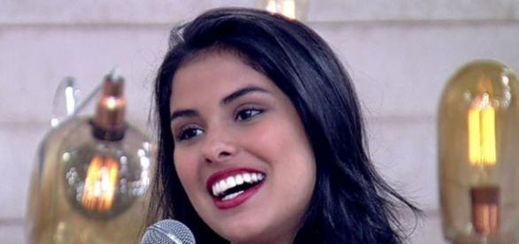 Munik participou do programa 'Encontro com Fátima Bernardes'