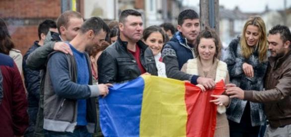 Românii din Regatul Unit cu sufletul la gură
