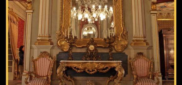 Salón principal de la Casa Castellarnau
