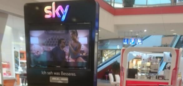 "Sky-Stand im Berliner Shoppingpalast ""Eastgate"""