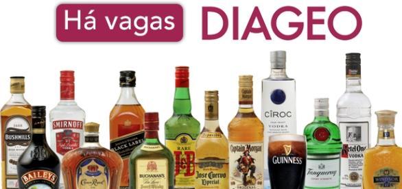 Vagas abertas na multinacional Diageo