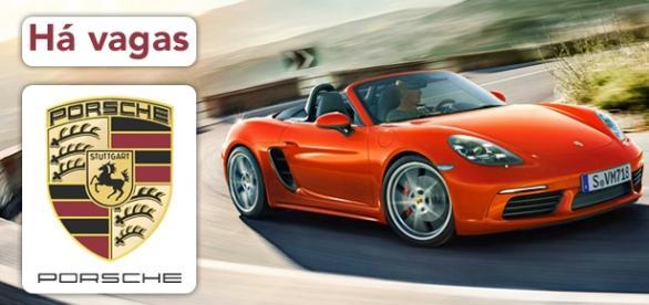 Vagas na Porsche. Foto: Reprodução Porsche.