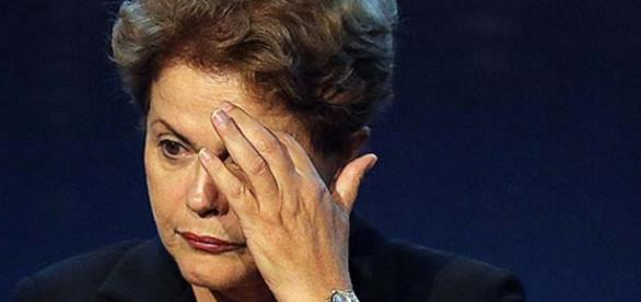Dilma Rousseff fica preocupada - Foto/Reprodução