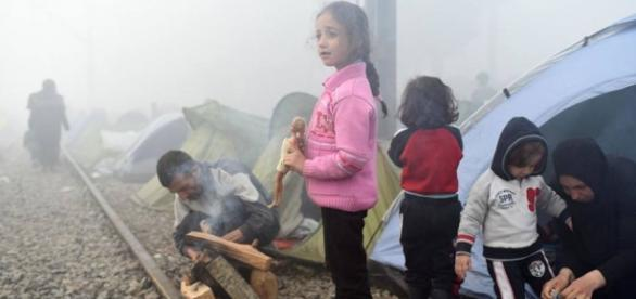 Grupos de refugiados esperan su destino estos días