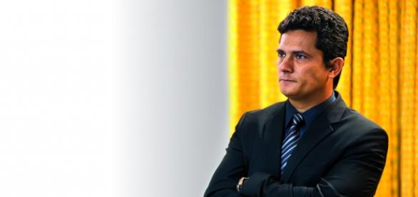 Juiz federal Sérgio Moro em destaque.