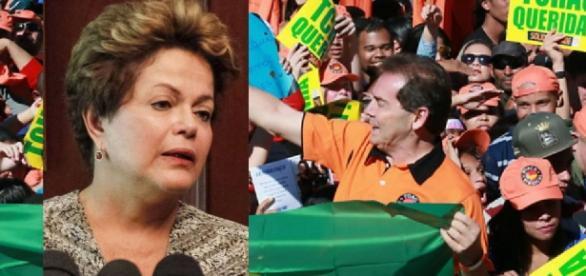 Dilma Rousseff e Paulinha da Força
