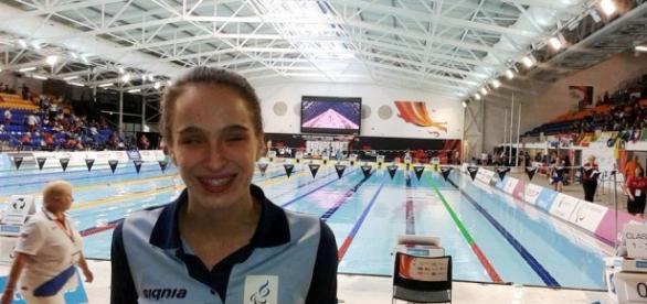 La nadadora Anita Pellitero se clasificó para los Juegos Paralímpicos a disputarse en Río de Janeiro