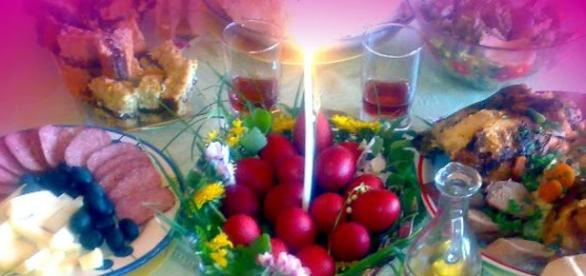 La români masa de Paşti este bogată