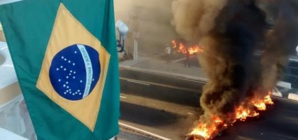 Brasil é tomado por protestos no dia que antecede votação