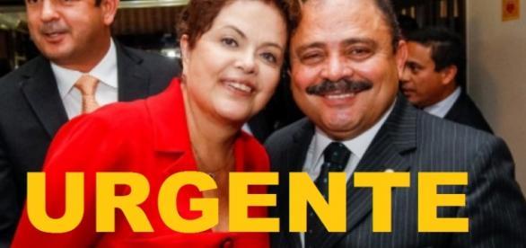 Dilma Rousseff e Maranhão - Imagem/Google