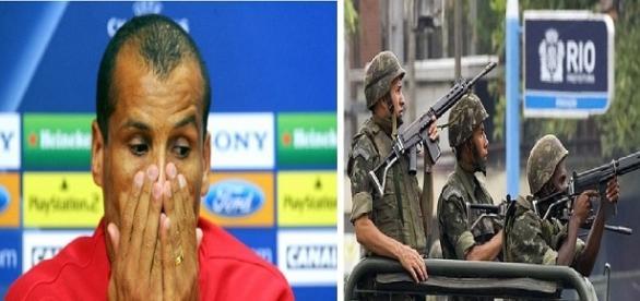 Ex-jogador fala da violência no Brasil