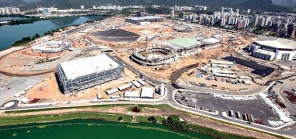 Obras dos Jogos Olímpicos estão sendo interditadas