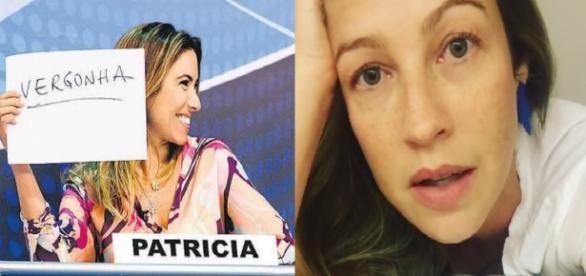 Patrícia Abravanel e Luana Piovani - Foto/Montagem