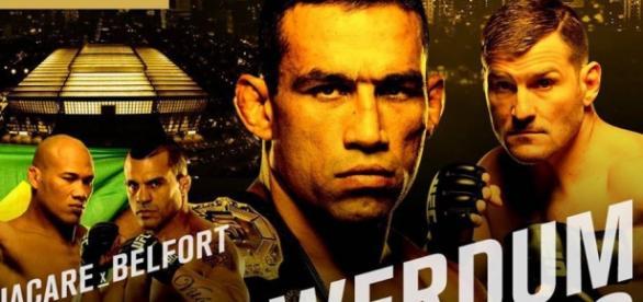 Poster Oficial do UFC 198 - Werdum x Miocic