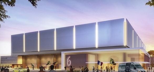 Projeto da Arena e futuro anfiteatro (Divulgação)