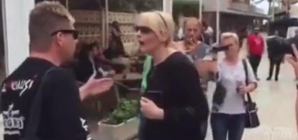 Öffentlicher Streit zwischen Almklausi und Helena Fürst