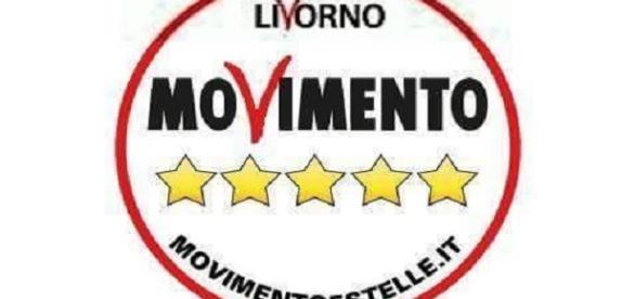 Il simbolo del Movimento 5 Stelle livornese