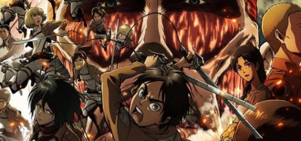 Imagen promocional del anime Shingeki no Kyojin