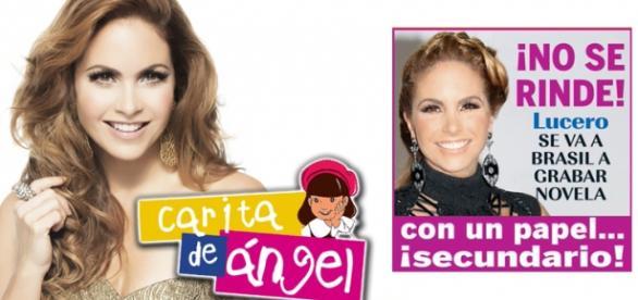 Lucero virá ao Brasil gravar a novela Carinha de Anjo.