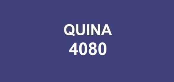 Quina 4080; Sorteio realizado nessa terça-feira, dia 10.