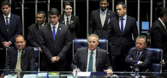 Sessão do Senado - Impeachment Presidente Dilma Rousseff