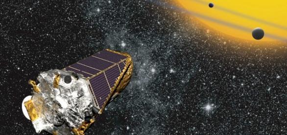 Telescopul Kepler - NASA caută cu ajutorul lui planete similare Pământului care să poată susțină viața