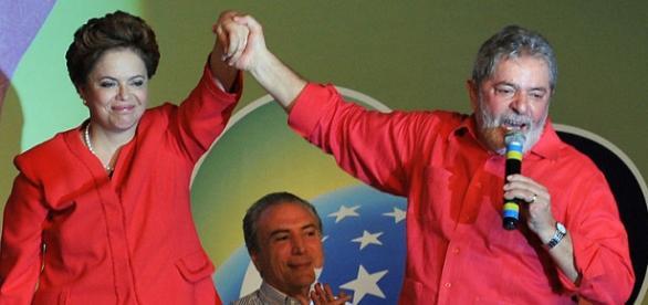 Dilma Rousseff e il Presidente ad interim, Michel Temer.