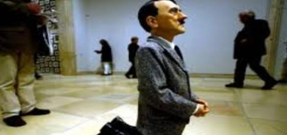 """""""Him"""" by Maurizio Cattelan Creative Commons"""