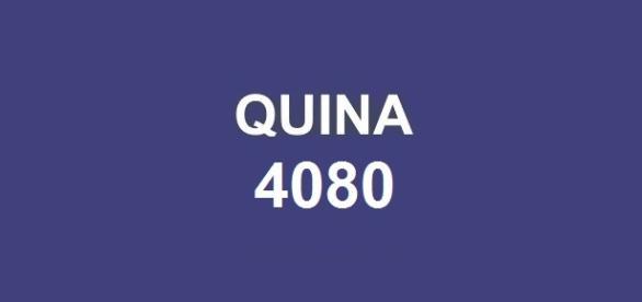 Resultado da Quina 4080; Sorteio do prêmio de R$ 8 milhões.