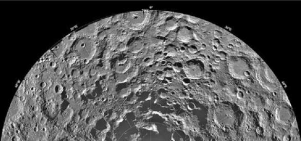The South Pole of the Moon (NASA)