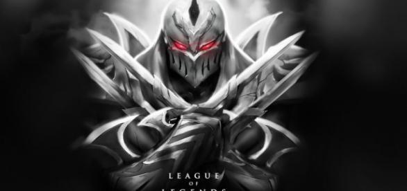 Zed, uno de los midlaners más potentes del momento.