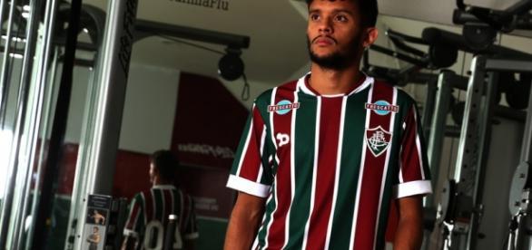 Com dois gols,Scarpa foi o destaque da classificação do Flu na Copa do Brasil (Fonte: Nelson Perez / Divulgação FFC)