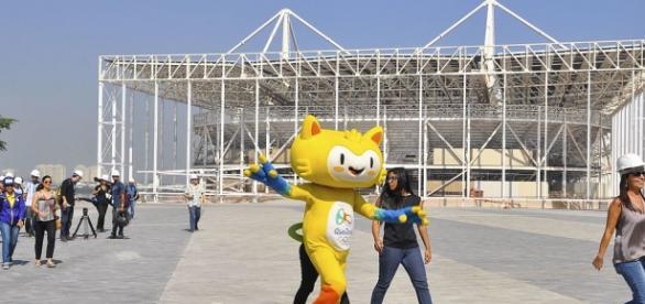Foto: Agência Brasil - Parque Olímpico em obras.