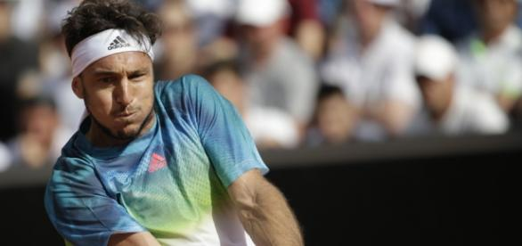 Juan Mónaco no se presentó a jugar los cuartos de final en Roma por un fuerte dolor en la cadera