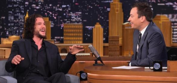 Kit Harington contou o fato no 'The Tonight Show with Jimmy Fallon' (Foto: NBC)