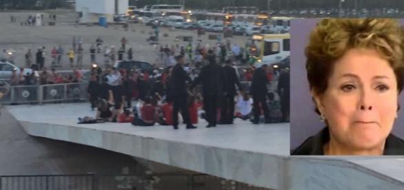 Petistas acabaram detidos - Foto/Montagem: Google