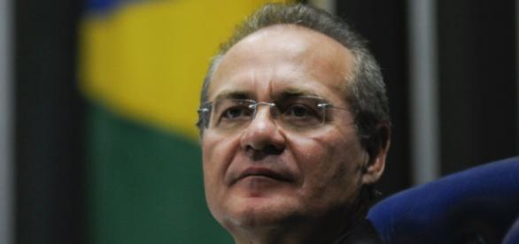 Renan Calheiros, presidente do Senado Federal