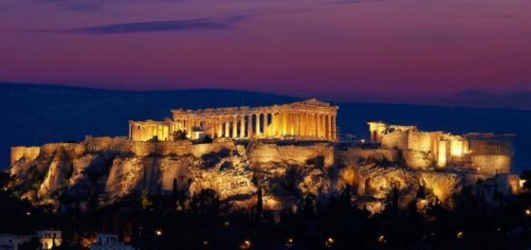 A Acrópoli de Atenas, Grécia, patrimônio da humanidade