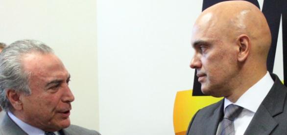Alexandre de Moraes, Ministro da Justiça e Cidadania da gestão Temer, pretende dar apoio totoal às investigações da PF.