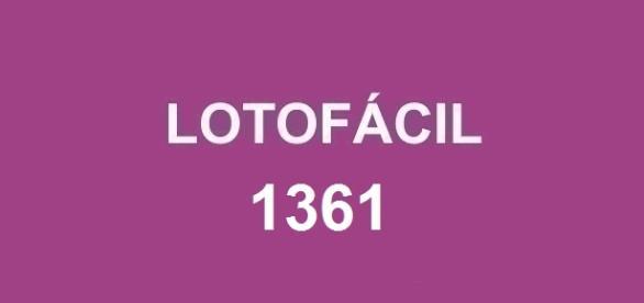 Concurso 1361; Resultado da lotofácil 1361 divulgado nessa sexta-feira (13).